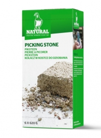 Natural Picking Stone w kostce do dziobania