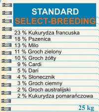 SELECT   STANDARD - BREEDING